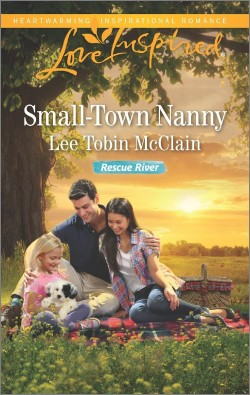 Book cover small town nanny