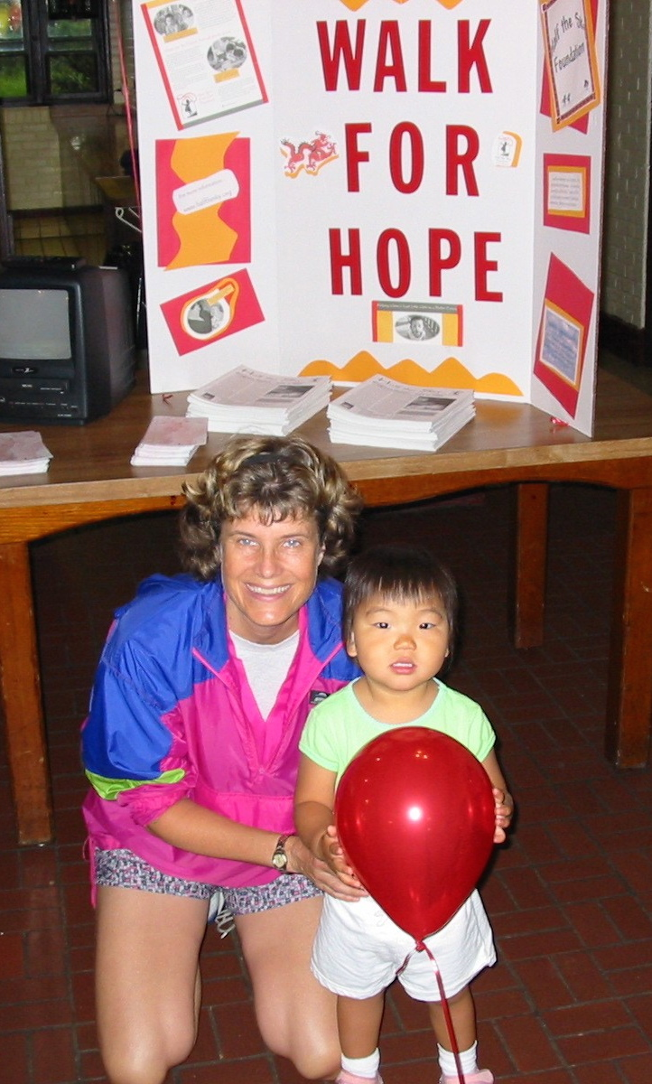 walk for hope lee&gracie