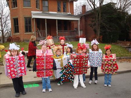 brownies holiday parade 09