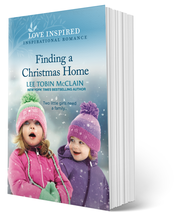 book cover of twin girls in winter coats and hats